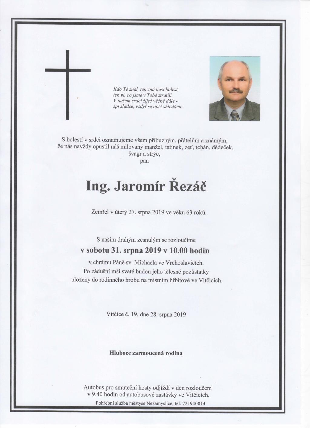 Parte - Jaromír Řezáč